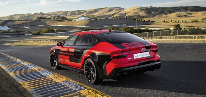 Audi RS7 piloted concept