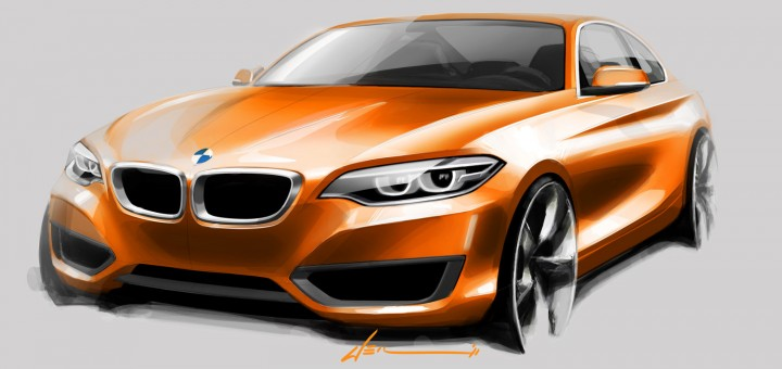 BMW 2-Series sketch