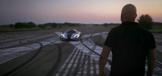 Christian von Koenigsegg with a One-1
