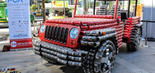 Jeep Wrangler Canstruction Canada Day