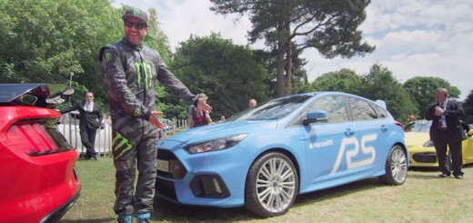 Ken Block Ford Focus RS Goodwood