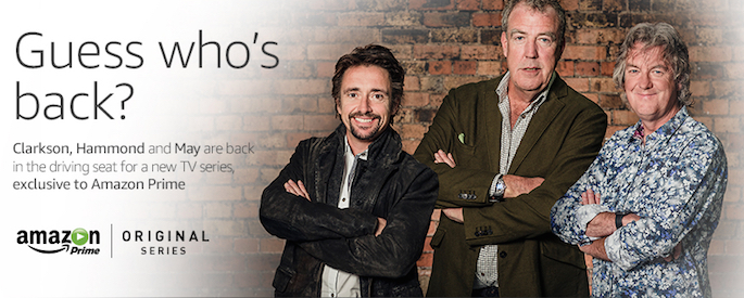 Top Gear Return Amazon Prime