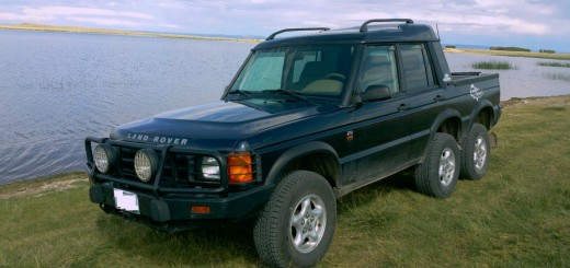 1999 Land Rover Discovery crew cab 6x4