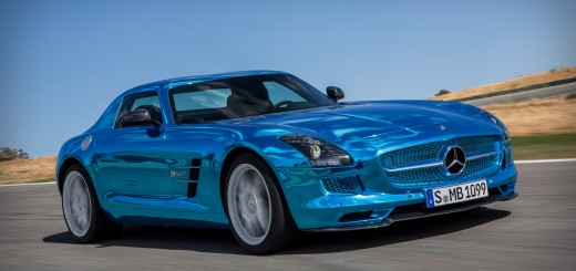 2014 Mercedes SLS AMG Electric Drive