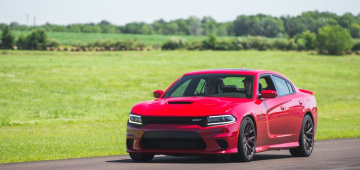 2015 Dodge Charger Hellcat Red Gingerman MAMA School