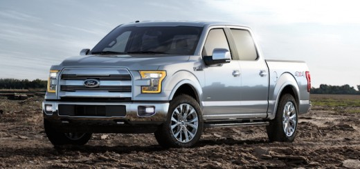 2015 Ford F150 Front Left Quarter