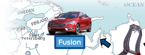 2017 Ford Fusion Leaked