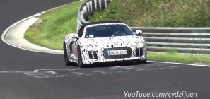 Audi R8 V10 Spyder on the Nurburgring