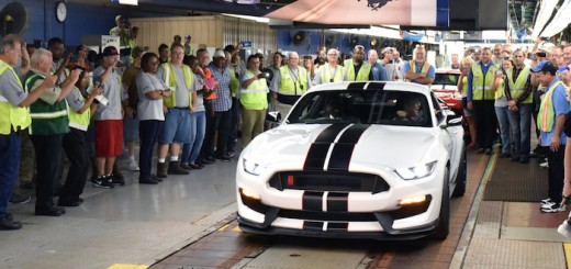Ford Mustang Shelby GT350R Production