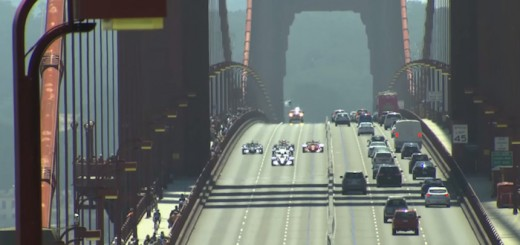 IndyCar Golden Gate Bridge Video
