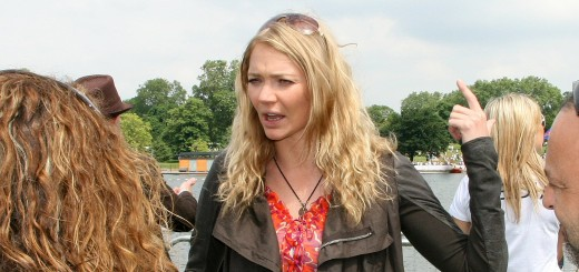 Jodie Kidd at Flugtag London, in 2008. Photo: Brian Minkoff