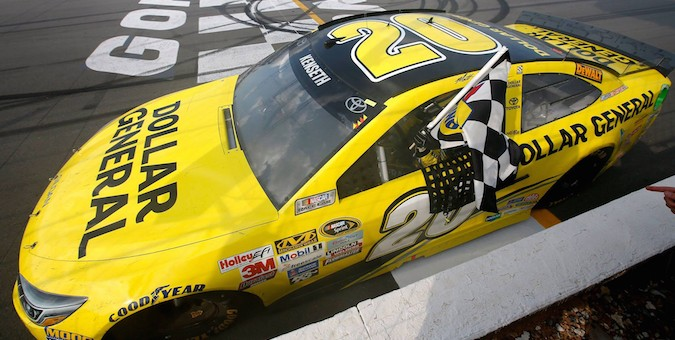 Matt Kenseth Pocono 2015 Win