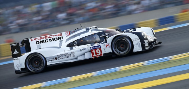 Porsche 2015 24 Hours of Le Mans 919 Side
