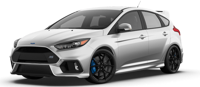 2016 Ford Focus Rs Configurator