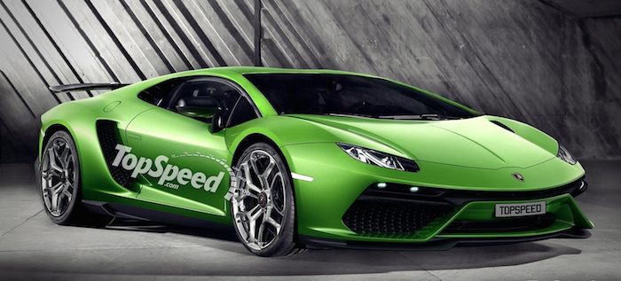 Lamborghini Centenario Lp 770 4 Rendered
