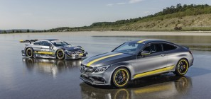 Special Model Mercedes-AMG C 63 Coupé Edition 1 and the Mercedes-AMG C 63 DTM racing coupé