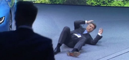 BMW CEO Collapses Video