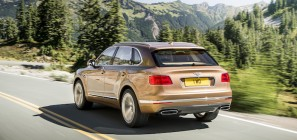 Bentley Bentayga Rear Quarter