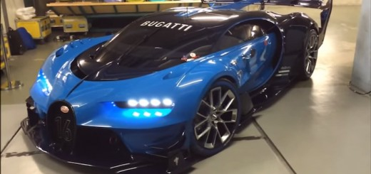 Bugatti Vision GT Exhaust Video