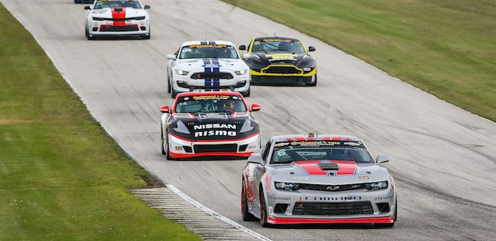 Chevrolet Camaro Z28.R 5th and 6th at Road America