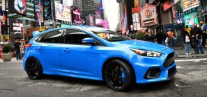 Ford Focus RS Times Square NYC