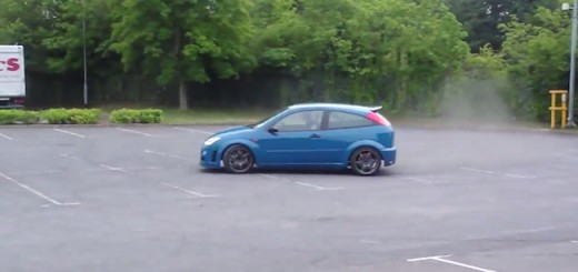 Ford Focus V8 RWD Video