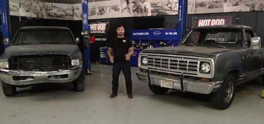 Hot Rod Garage Cummins Swap Video