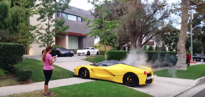 LaFerrari Beverly Hills Video