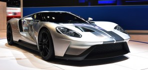 The all-new Ford GT supercar at Chicago
