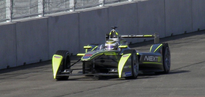 A NextEV TCR Formula E racer in Berlin. Photo: Grndhl
