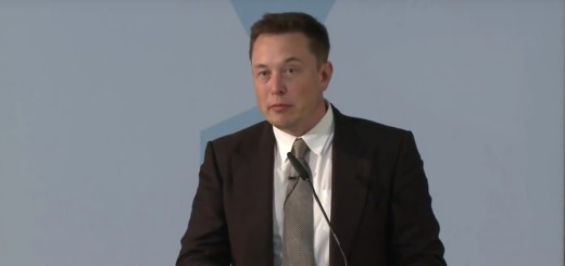 Tesla Motors CEO Elon Musk speaking in Germany
