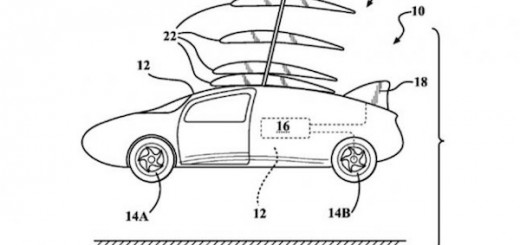 Toyota Stackable Wing Patent