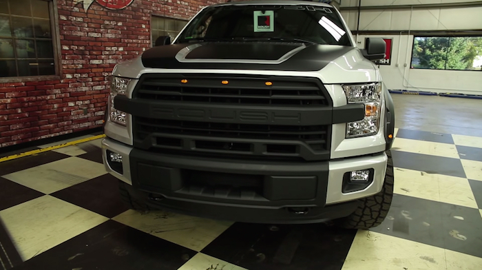 A Closer Look At The 2015 Roush Ford F 150 Video