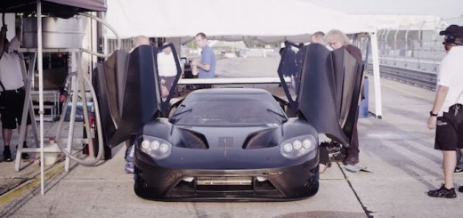 Ford GT Development Test Video