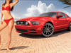 2013 Ford Mustang with Dalena Henriques