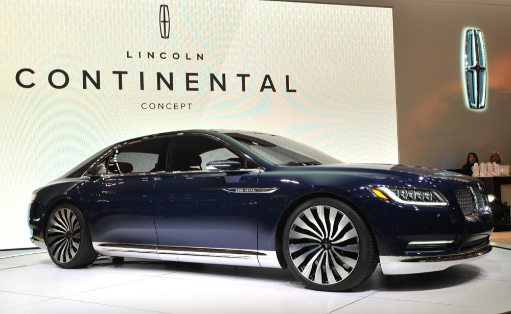 Lincoln Continental Concept 2017 New York International Auto