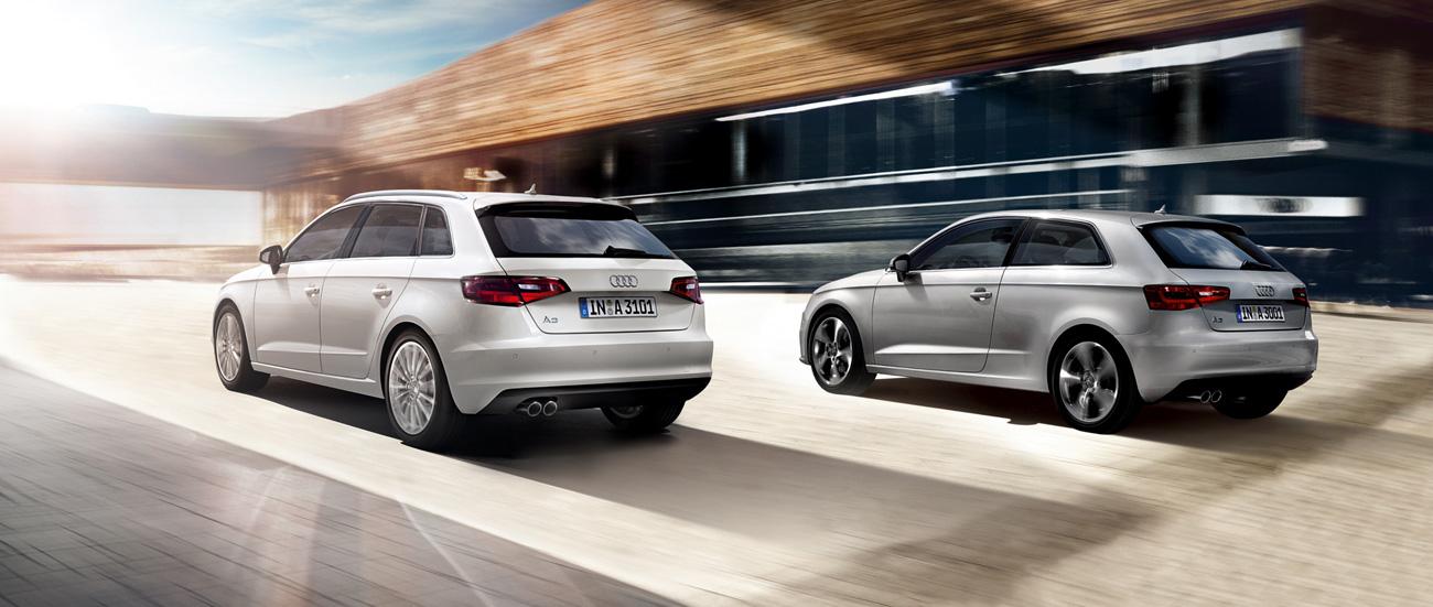 2014 Audi A3 Sportback and A3