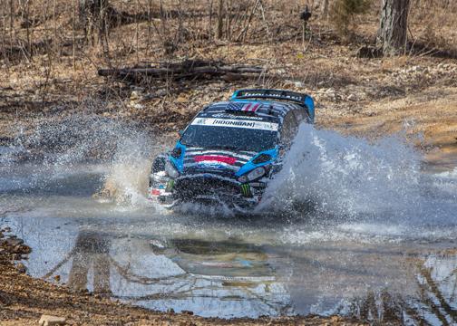 Ken Block Ford Fiesta WRC 100 Acre Wood 2