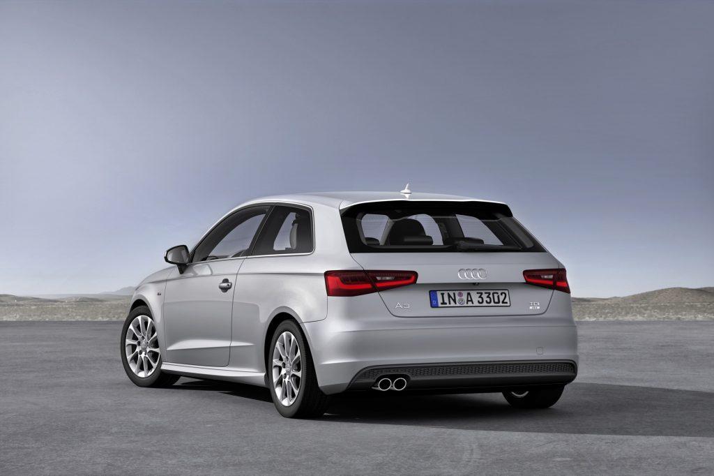 German-market 2014 Audi A3 3-door hatch