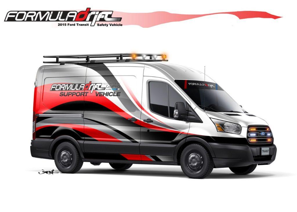 2015 Ford Transit Formula Drift - SEMA 2014