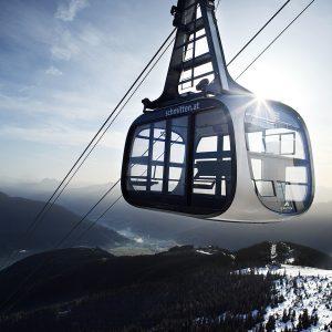 A gondola of Porsche Design. Photo: iWmagazine.com