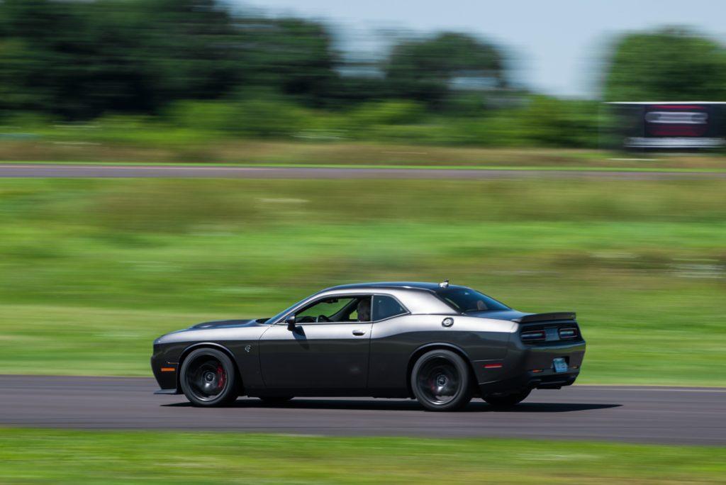 2015 Dodge Challenger Hellcat Gray Gingerman Raceway