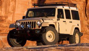 2015 Jeep Wrangler Africa concept