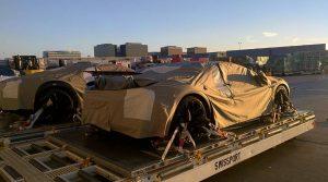 Bugatti Chiron prototypes at LAX 02