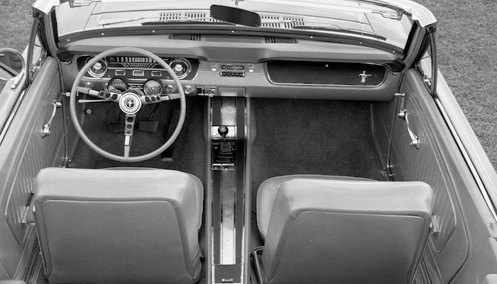 1965 Mustang Steering Wheel