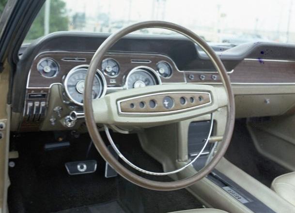 1968 Mustang Steering Wheel