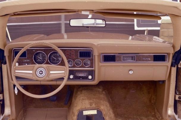 1974 Mustang Steering Wheel