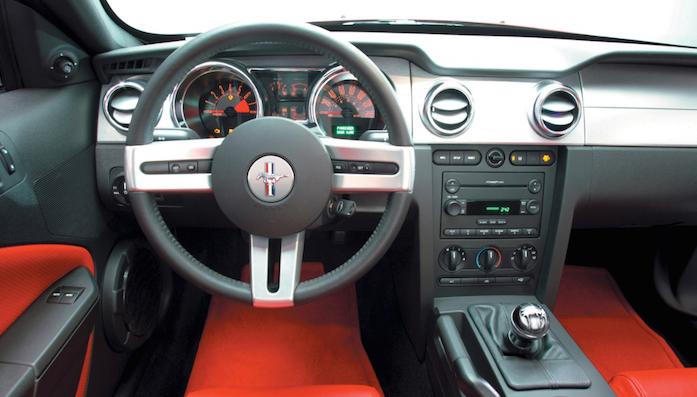 2005 Ford Mustang Steering Wheel