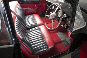 Nicholas Cages Bugatti Type 101C interior